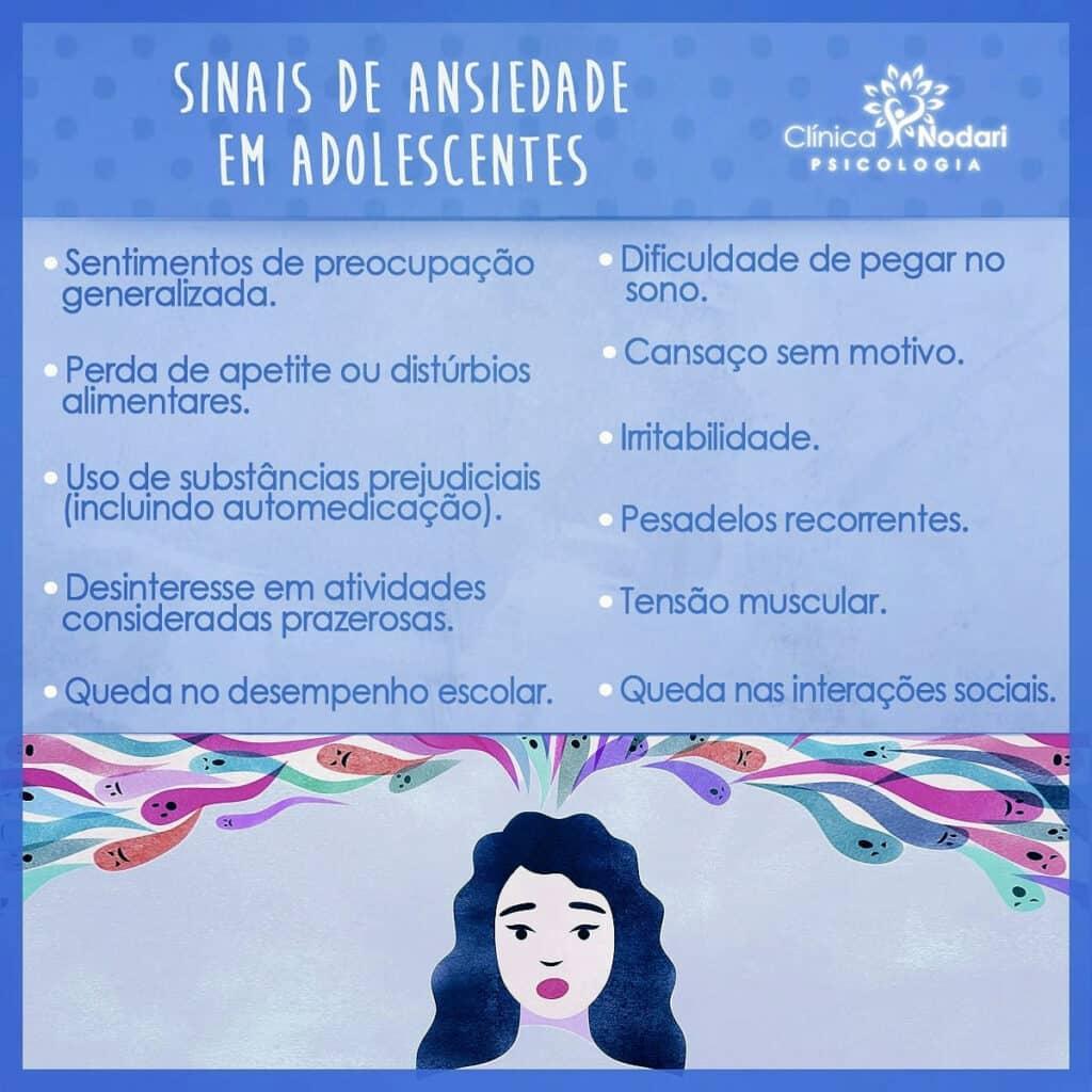 Transtorno de Ansiedade em adolescentes