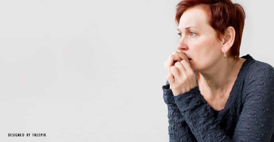 Um dos sintomas da ansiedade é a preocupação excessiva