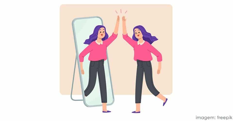 autoconfiança sinônimos: determinação, autoafirmação, segurança, objetividade e posicionamento.